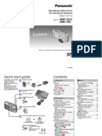 Panasonic DMC-TZ10 User's Manual