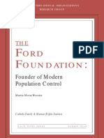 THE FORD FOUNDATION