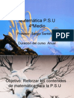 Matemática PSU
