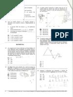 Concurso para Cabo 2012 - CETRO - Matemática