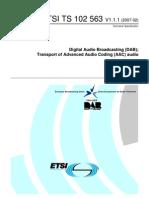 ETSI TS 102 563
