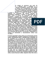10 Aspectos Para Elaboracion de Un Informe Psicologico Clinico