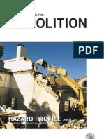 Identific Tool Demolition Hazard Profile 0985
