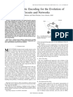 Mattiussi Claudio and Floreano, Dario (2007) Analog Genetic Encoding for the Evolution of Circuits and Networks Graphs, Neural Networks, Electronic Circuits, Gene Regulatory Networks)