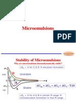 Micro Emulsion