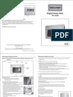 Digital Home Safe 101-5359