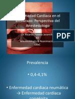 Enfermedad Cardiaca en El Embarazo