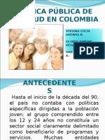 Presentacion Politica Publica de Juventud en Colombia