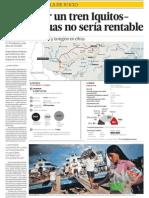 Proyecto de Construcción de Tren en Amazonía del Perú