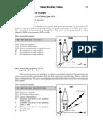 Basic Machine Codes for CNC Milling