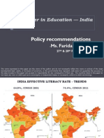 Gender in Education - India