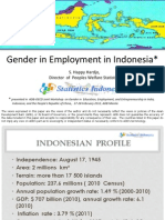 Gender in Employment in Indonesia