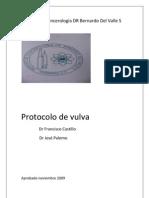 Protocolo de Vulva