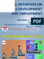 Local Initiatives on Skills Development and Employment