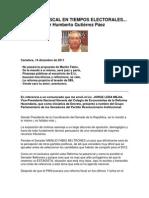 Lera. Reforma Fiscal en Tiempos Electorales