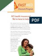 FastMed Discount Program 2011