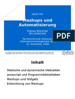 Mashups und Automatisierung