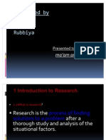 Busines Research 2