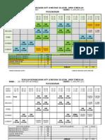Jadual Waktu Persendirian 2012-Asri