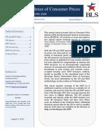 Annual Consumer Prices (CPI and HICP)