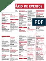 Calendário Calourada 2012