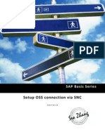 SAP Basis Series - Setup OSS Connection via SNC