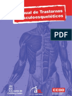 Manual de  Trastornos Musculoesqueleticos