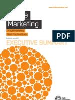 Mobile Marketing BPG Exec Summary