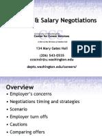 Resources - Job & Salary Negotiations