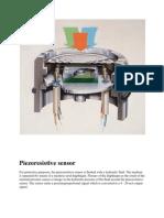Piezoresistive Sensor