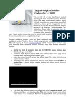 Langkah Win Server 2008