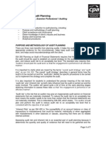 2010 P1 Auditing CPA Introduction to Audit Planning