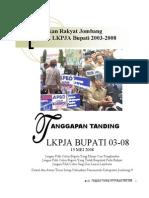 Gerakan Tolak LKPJA Bupati 2003-2008