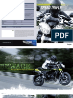 2011 Triumph Speed Triple Brochure En
