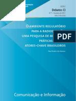 Relatório da ONU sobre a situação da mídia no Brasil.