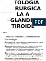 c 1 Patologia Chirurgicala a Glandei Tiroide