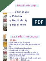 Chuong 2-Bao Bi Kim Loai