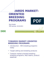 Towards market-oriented breeding
