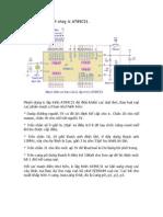 Mạch điện cơ bản chạy ic AT89C51 - Lập trình = ASM