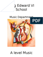 A Level Music Student Guide 2012