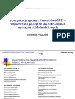 Gps Specyfikacja Geometrii Wyrobow