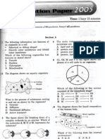Spm 4551 2005 Biology k1