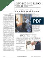 L´OSSERVATORE ROMANO. 04 Marzo 2012
