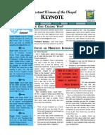 PWOC Keynote, March 2012