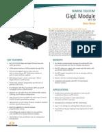 Sunrise Telecom GigE Module SSMTT-50