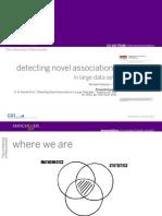 Detecting Novel Associations in Large Data Sets