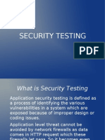 Web Apps Security Testing