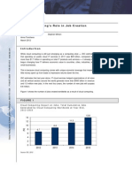 Cloud Computing to Create 14 Million New Jobs by 2015, IDC and Microsoft Commissioned Cloud Jobs White Paper
