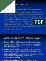 Ozone Deplition