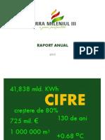 Raport anual 2010 TERRA Mileniul III